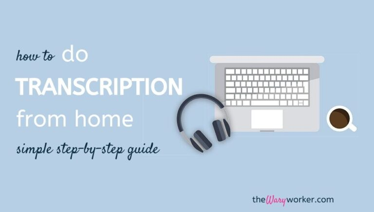 How To Make Money Online At Home By Doing Transcription Jobs 2021
